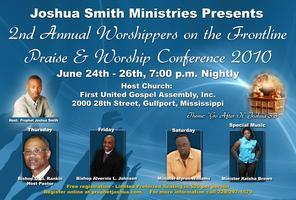 Worshippers on the Frontline Praise & Worship Conf....