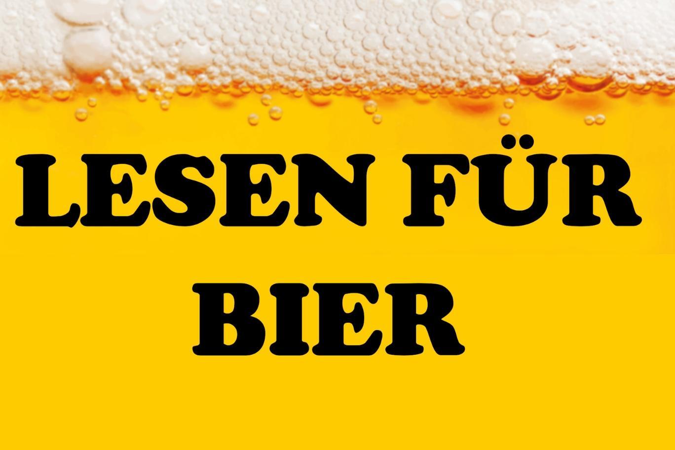 Lesen für Bier mit Micha-El Goehre + Gast - im Felis Essen