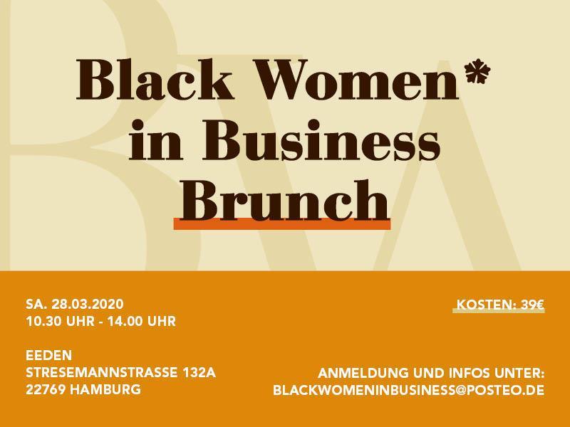 Black Women* in Business Brunch