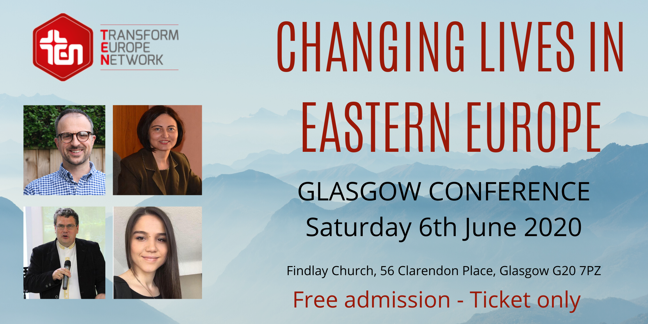 CHANGING LIVES IN EASTERN EUROPE - Christian mission conference in Glasgow