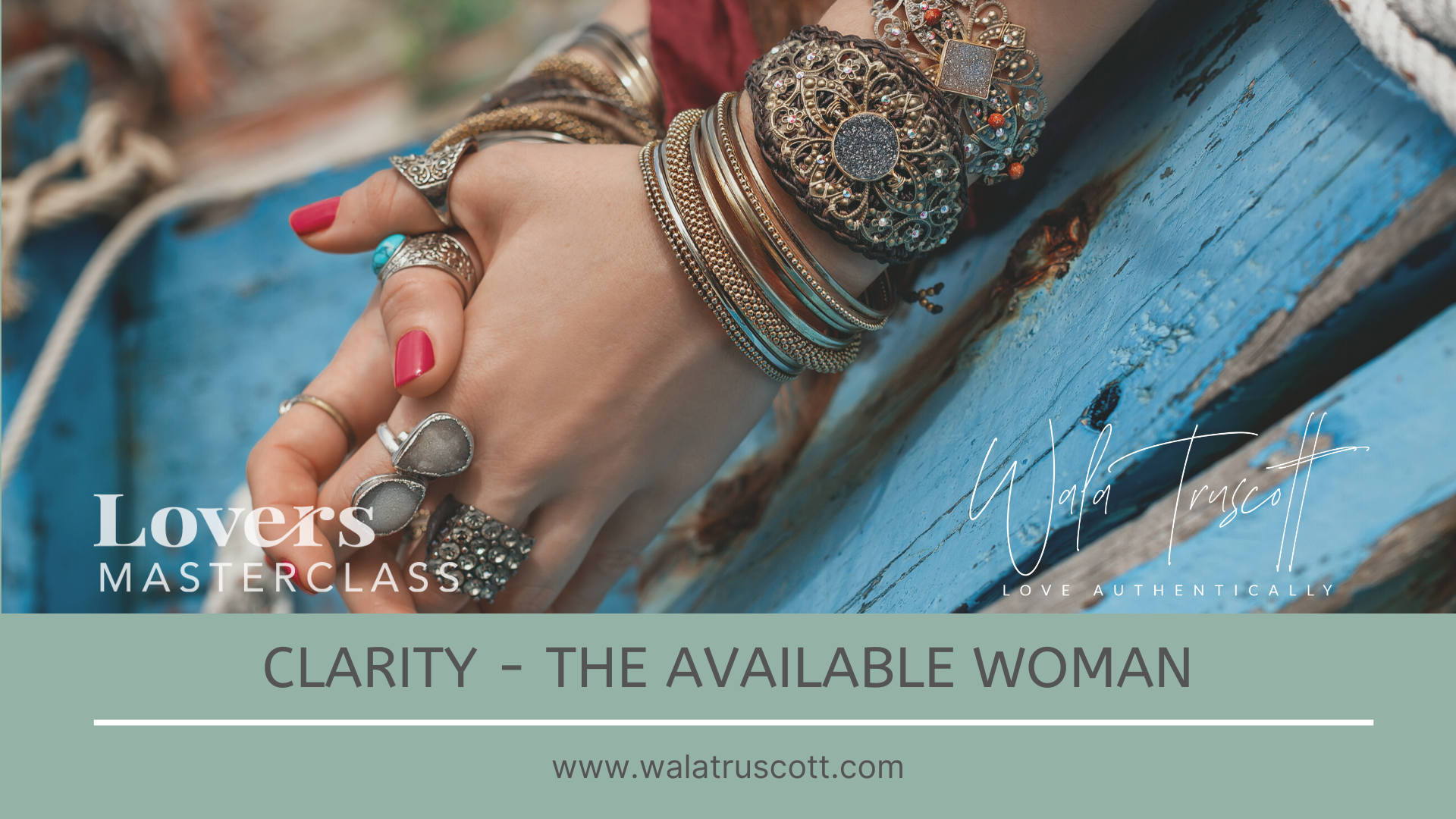 Clarity - The Available Woman (1-day)