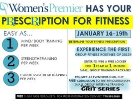 PRESCRIPTION for FITNESS; featuring Les Mills GRIT...