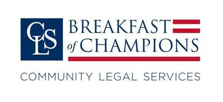 Community Legal Services' 2010 Breakfast of Champions