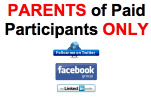 PARENTS of PAID PARTICIPANTS: Let's Connect Online:...