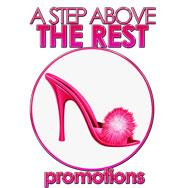 A STEP ABOVE THE REST PROMOTIONS logo