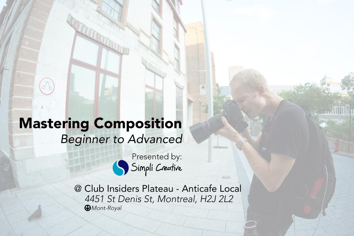 Photo Class - Mastering Composition