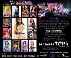 1st Annual Bottles and Goddess Girl Models New Years Eve...