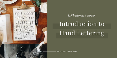 Introduction to Hand Lettering