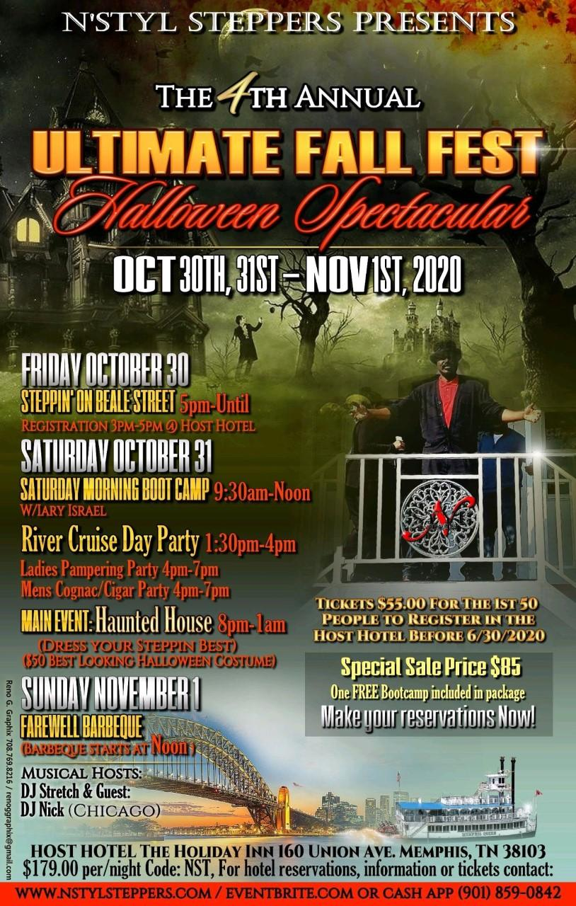 Memphis Halloween Beale 2020 4th Annual Ultimate Fall Fest, Halloween Spectacular   30 OCT 2020