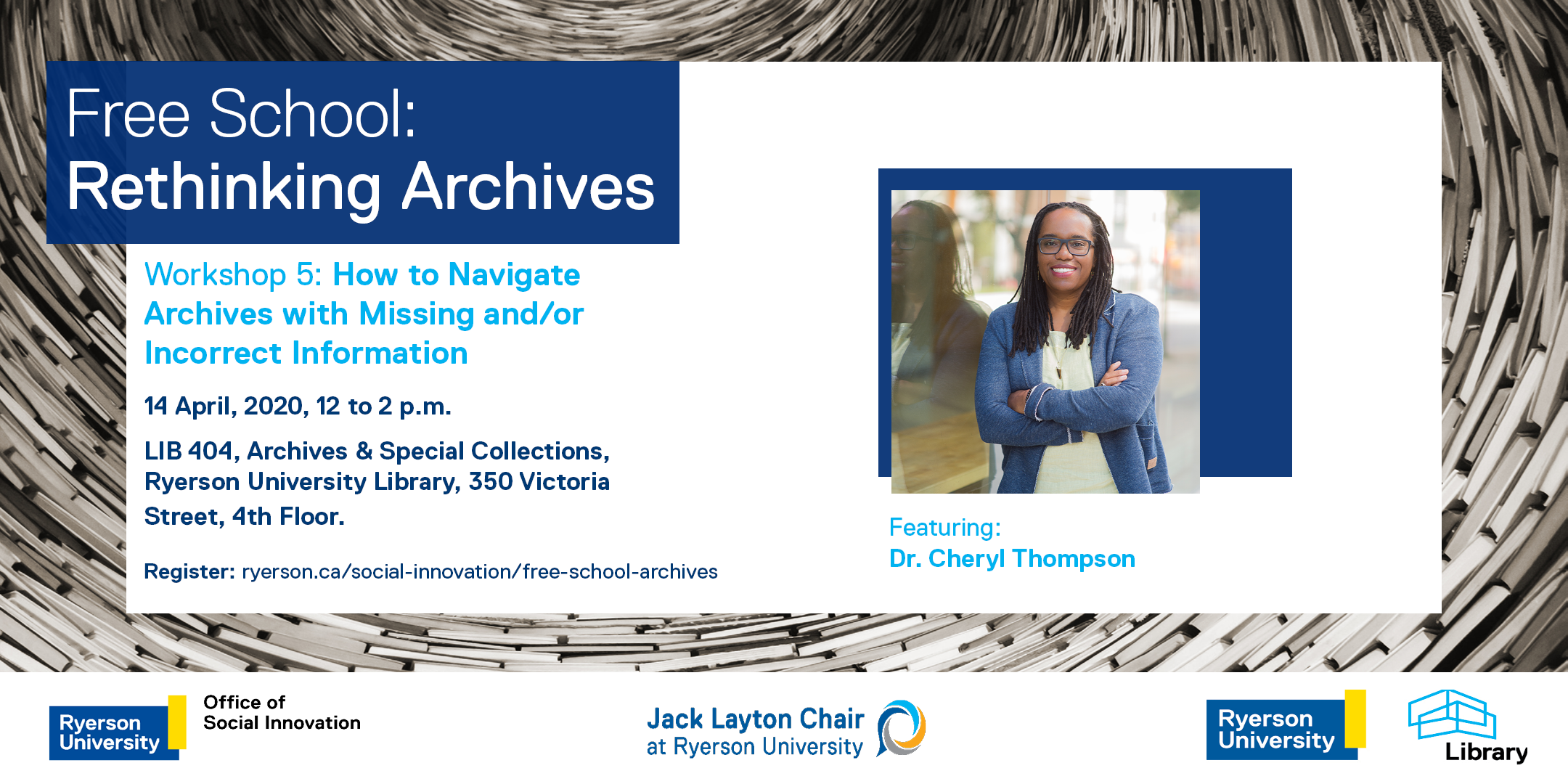 Free School - Workshop 5: How to Navigate Archives with Missing Info