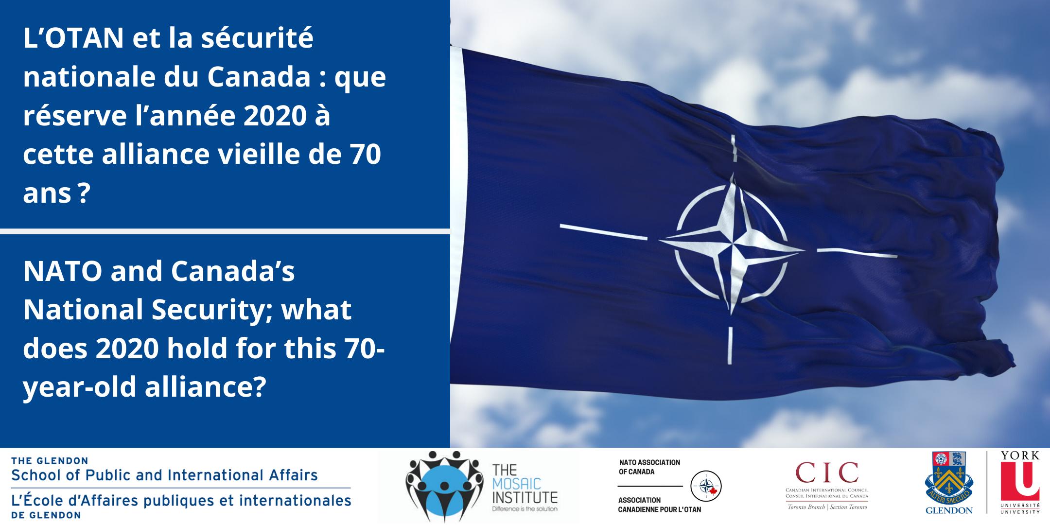 NATO and Canada's National Security | L'OTAN et la sécurité nationale