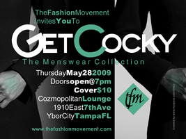 GET COCKY....The Mens Wear Presentation