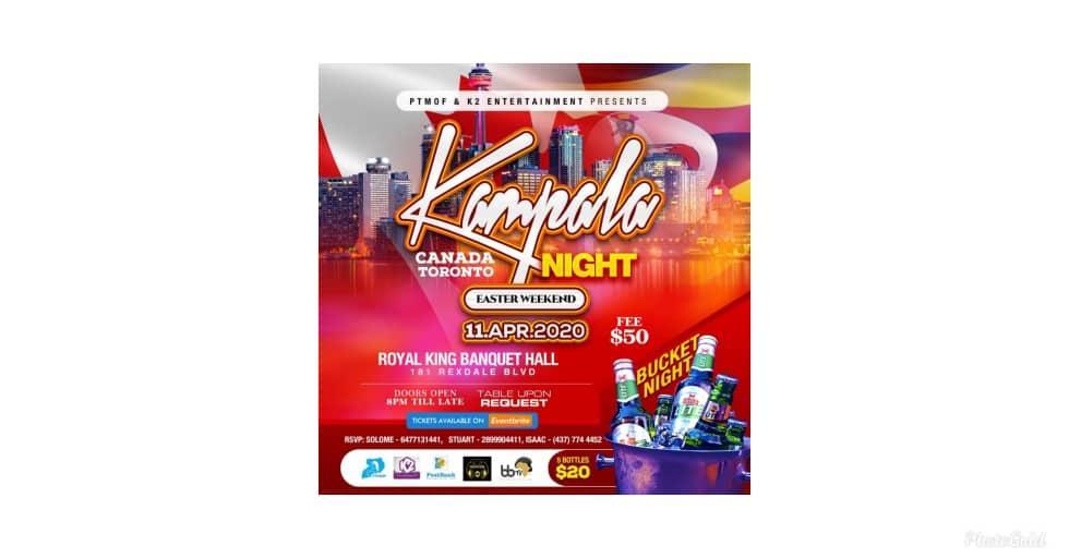 Kampala Night Toronto Canada