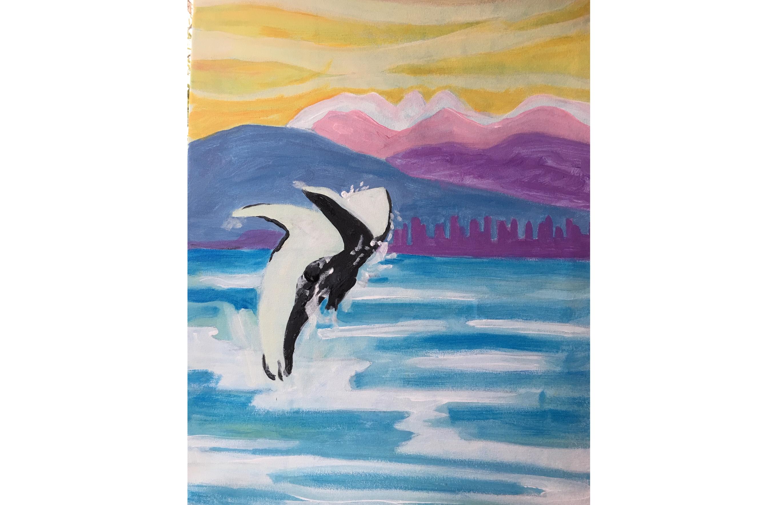 Virtual English Bay Paint Night - Art Painting