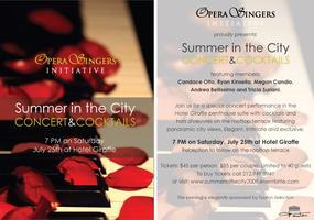 Summer in the City: Concert & Cocktails