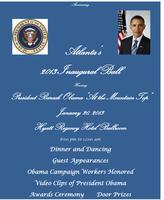 Atlanta's Inaugural Ball honoring President Obama