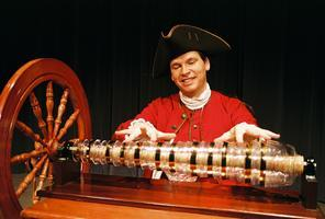 Glass Armonica concert - opening reception for Bejamin...