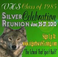 POST EVENT: C F Vigor Class of '85 - Silver Reunion...