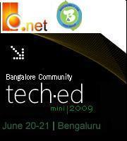 Bangalore Community TechEd 2009- Tickets Sold out!