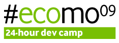 EcoMo09 24-hour dev camp
