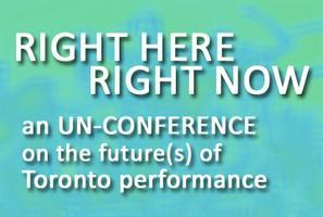 Right Here, Right Now: an Un-Conference on The...