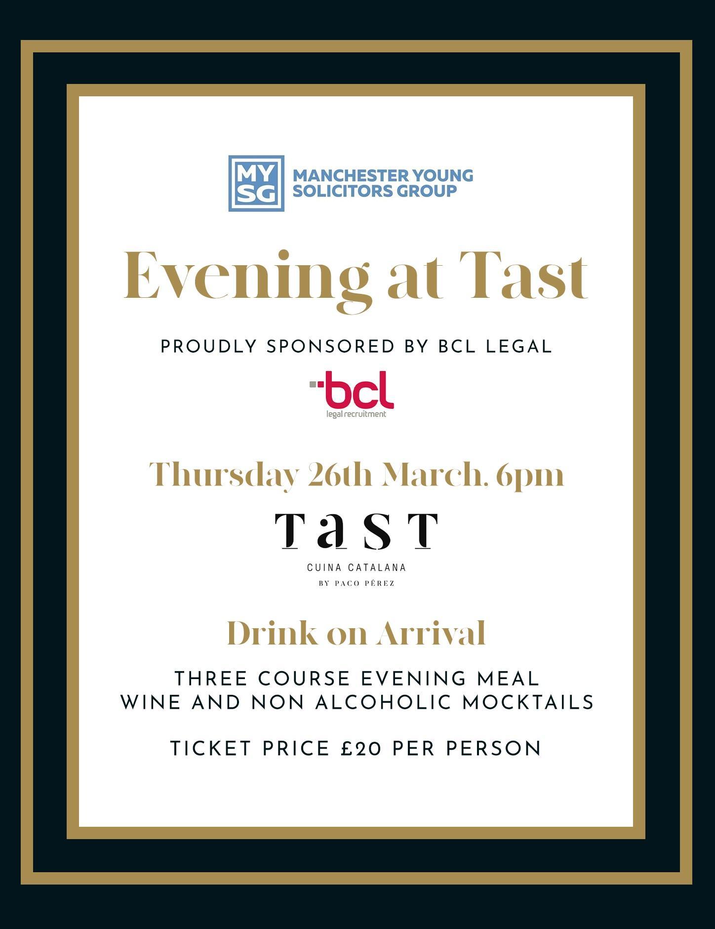 Evening at Tast