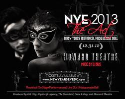 "New Years Eve 2013 ""The Act"" at The Theatre"