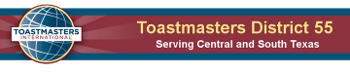 District 55 Toastmasters