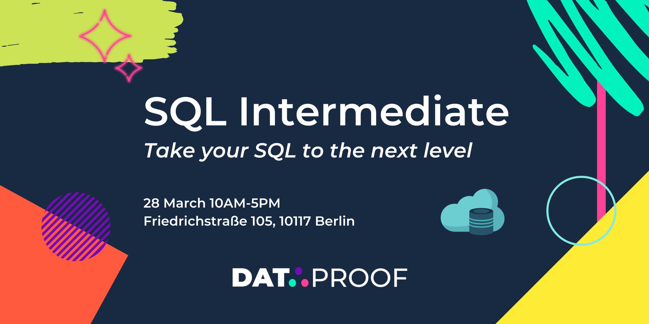 SQL Intermediate Workshop