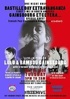 GAINSBOURG ETCETERA - BASTILLE DAY at THE BEEHIVE