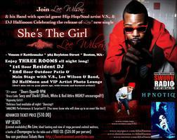 """""""She's The Girl"""" Lee Wilson Single Release Event"""