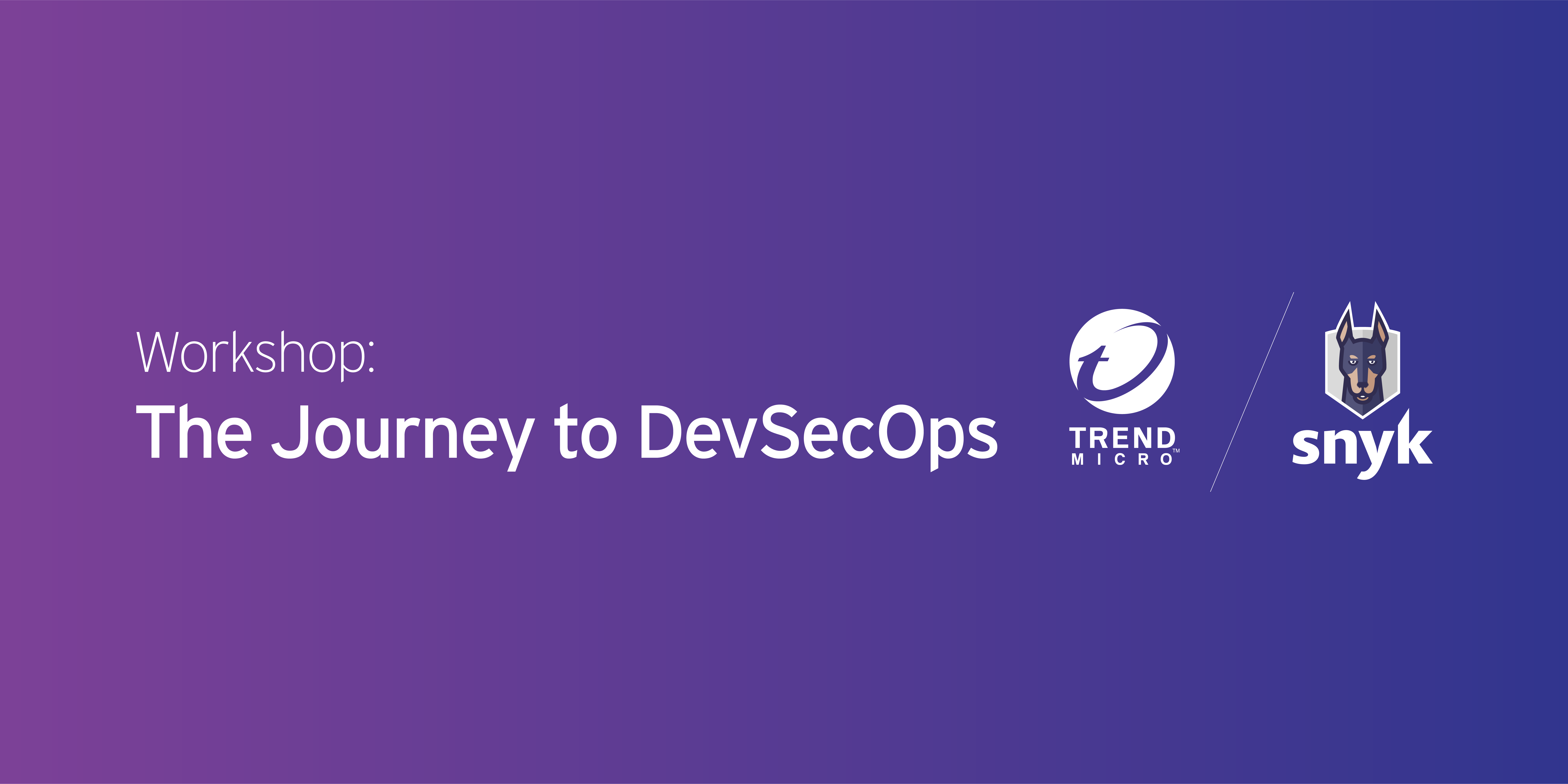 The Journey to DevSecOps