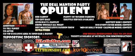 4th of July Mansion Pool Party ***OPULENT***...
