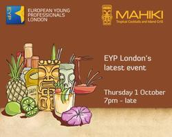 EYP London's latest event on 1 October: Mahiki mania
