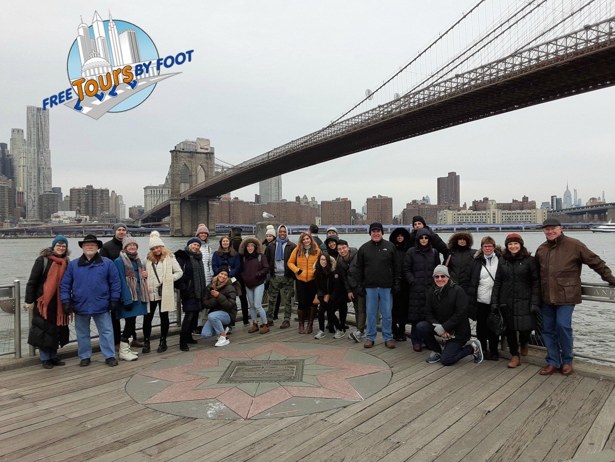 Brooklyn Bridge, Brooklyn Heights and DUMBO 9:30am Tour