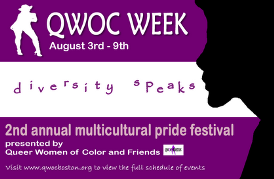 2ND ANNUAL QWOC WEEK (Aug 2nd-9th)