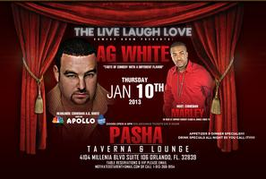 LIVE LAUGH LOVE COMEDY SHOW PRESENTS: A.G. WHITE JAN...