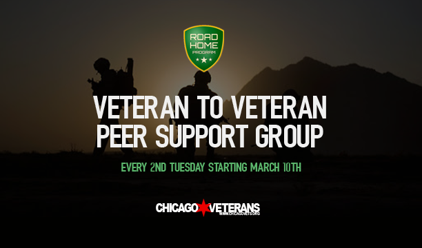 Veteran to Veteran Peer Support Group