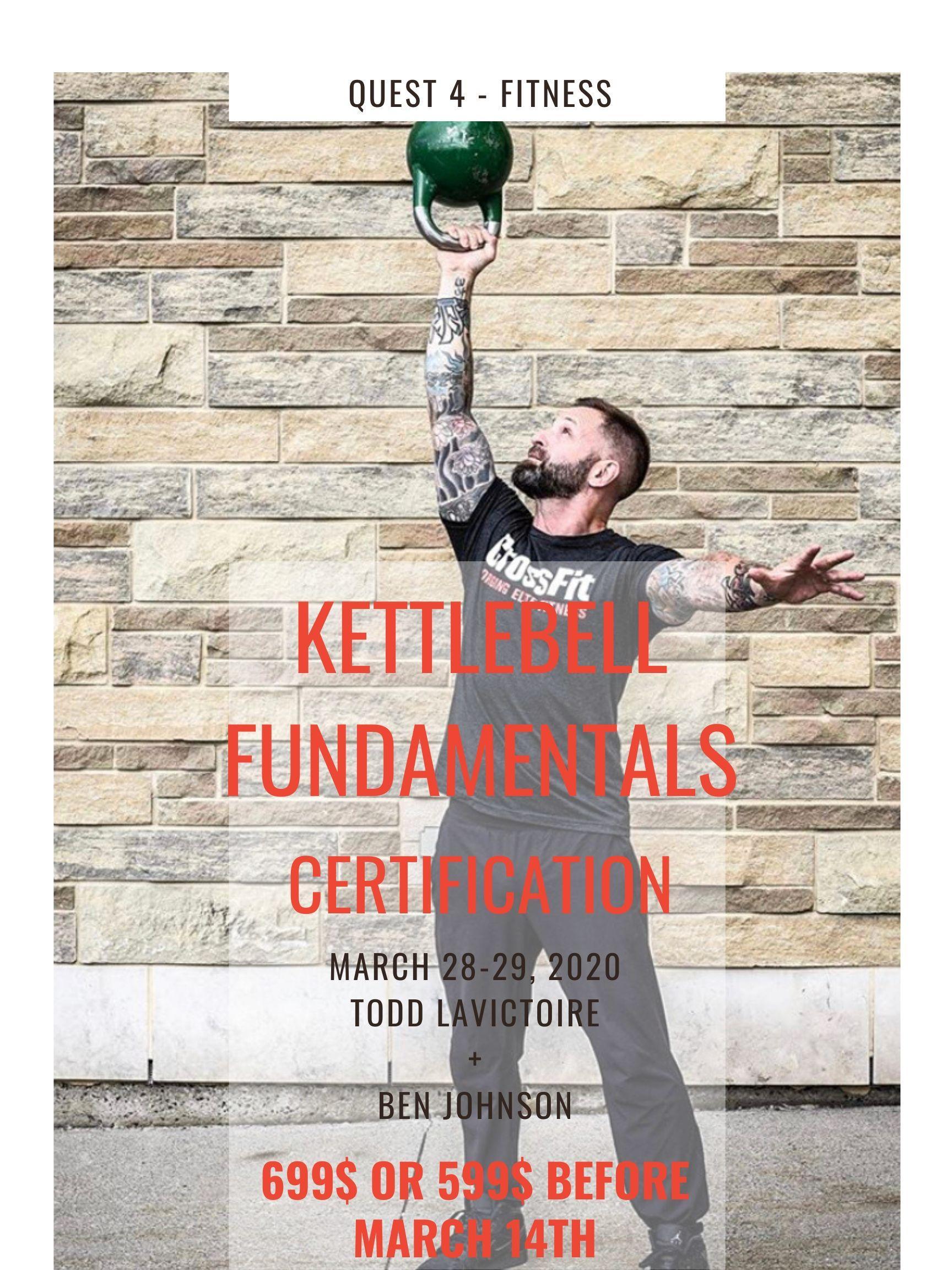 Kettlebell Fundamentals Certification