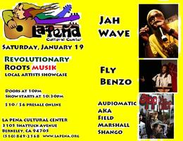 2nd Gen presents: Conscious Roots with Jah Wave & Special...