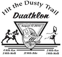 Hit the Dusty Trail Duathlon: Send Cancer Packing