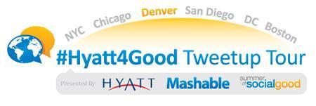 #Hyatt4Good Tweetup Tour Denver