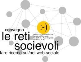 Le reti socievoli. Fare ricerca nel/sul web sociale
