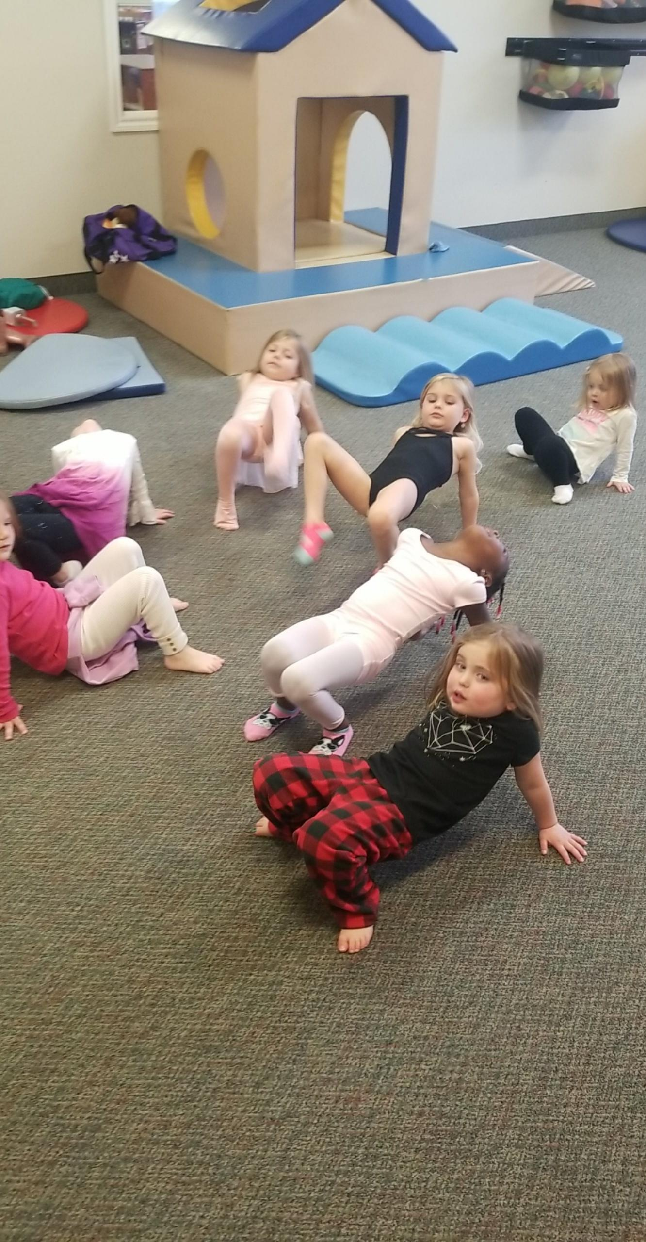 Movement from The Heart Parent/Child Yoga Classes