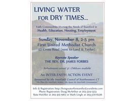 Living Water for Dry Times - Faith Communities Meeting...