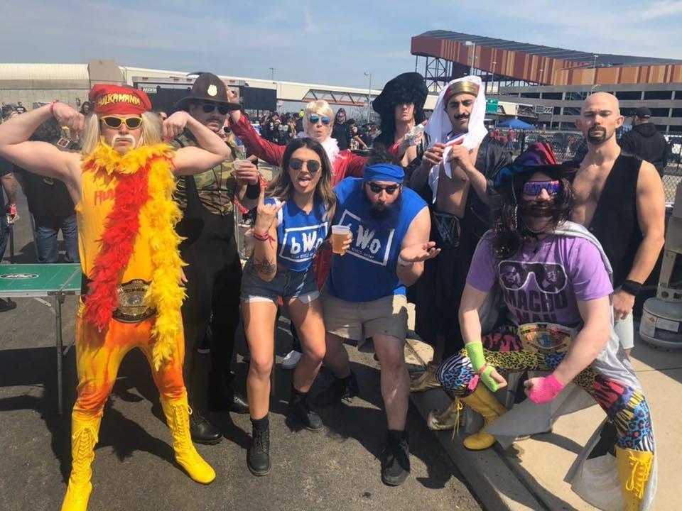 Wrestlemania 36 Tailgate Party with TailgateJoe