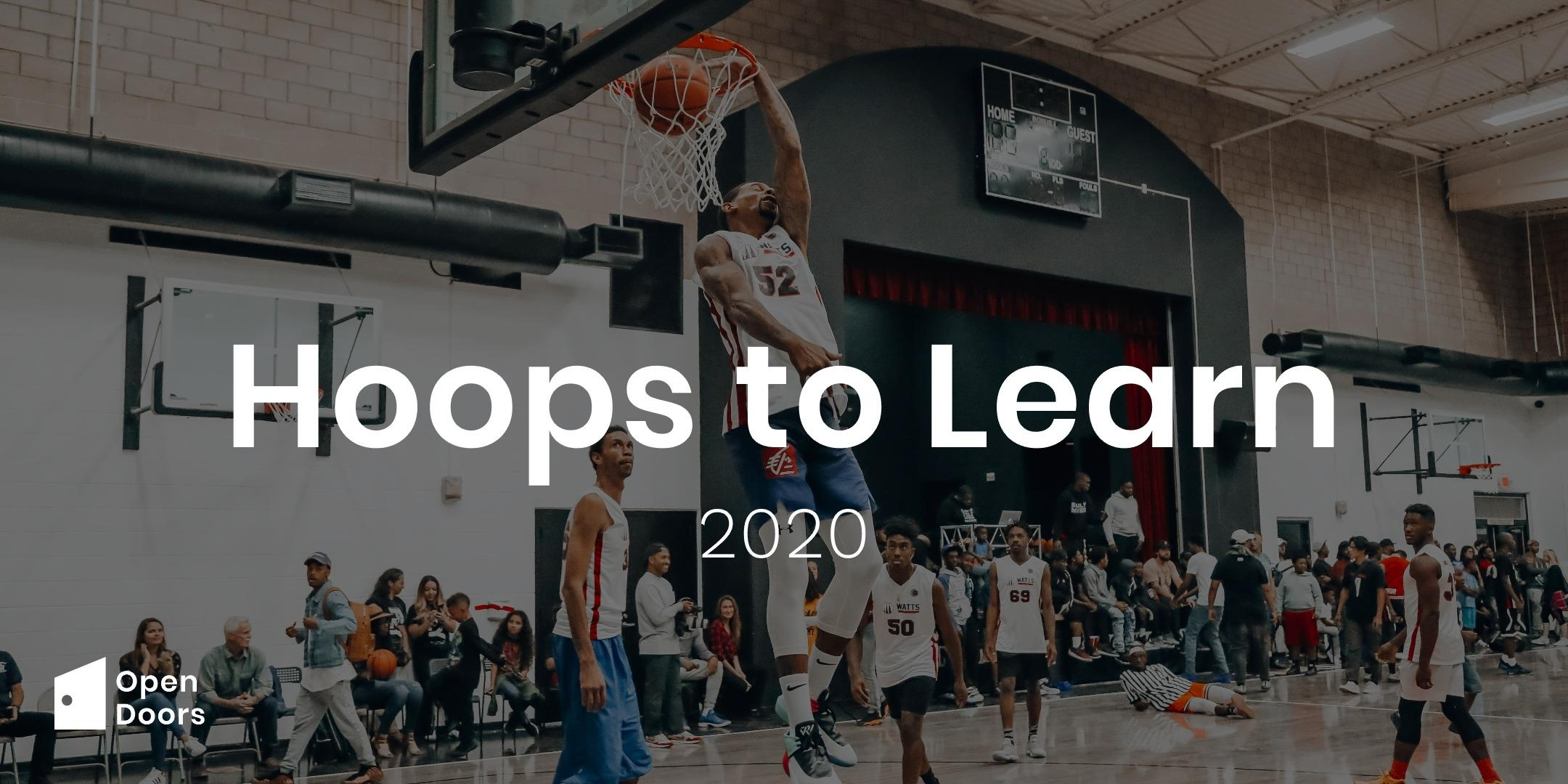 Hoops to Learn Basketball Tournament 2020