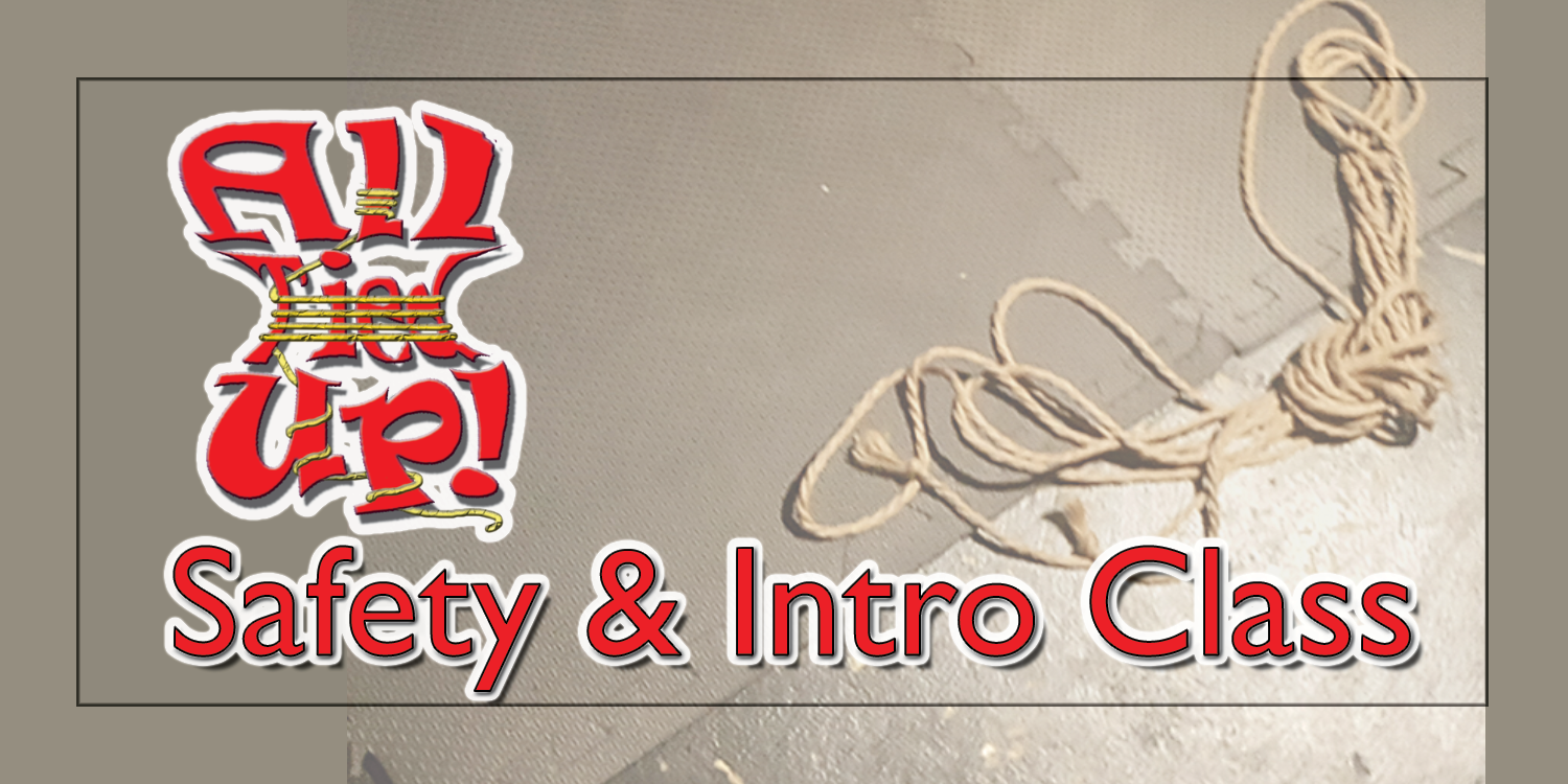 SAFETY & INTRO CLASS - April 1st (1st Wednesday)