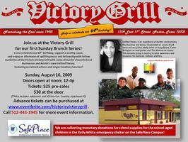 "Victory Grill ""Sunday Brunch"" featuring Unified Theory..."
