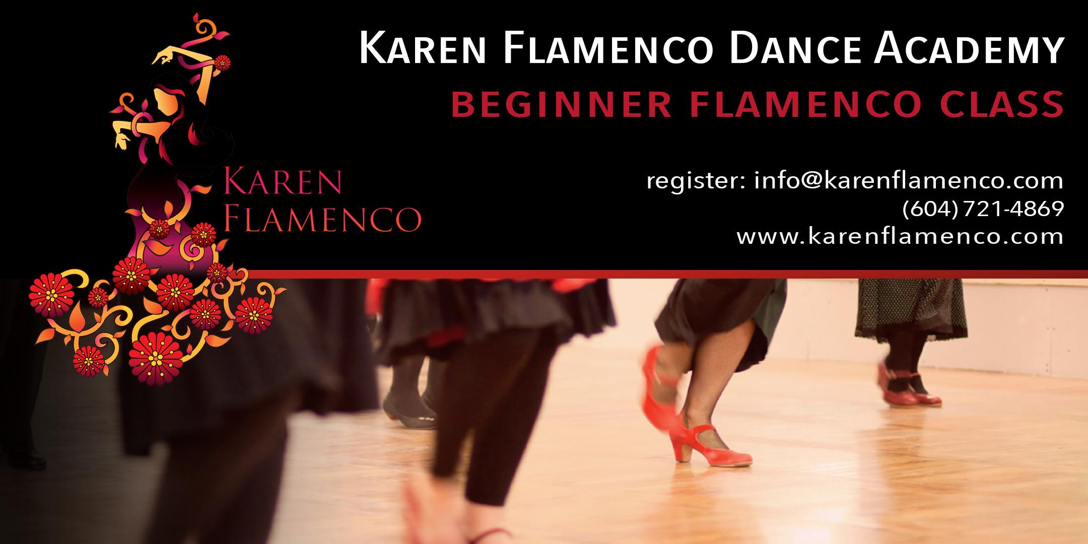 Karen Flamenco Dance Academy - Beginner Flamenco Class